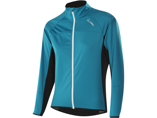 Löffler Alpha Windstopper Light Fahrrad Jacke Damen topaz blue